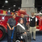 Prince Georges County Volunteer Fire Fighters and EMTS.