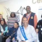 National Rehabilitation Hospital Volunteers gaining knowledge on to Ms. Wheelchair Pageants.