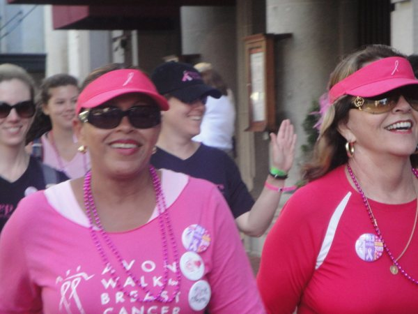 Avon breast walk 2010